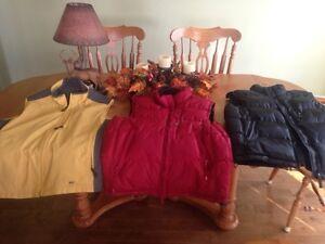 3 vests