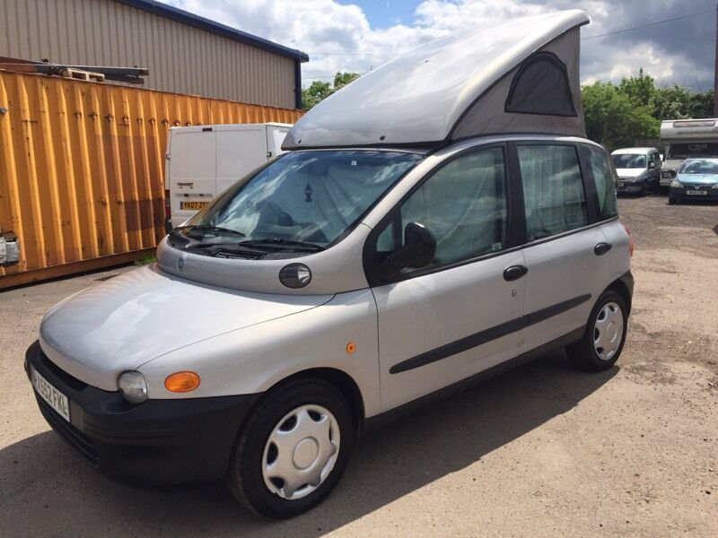 2000 fiat multipla camper campervan motorhome in alvaston derbyshire gumtree. Black Bedroom Furniture Sets. Home Design Ideas
