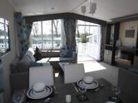 Stunning holiday home static caravan for sale extra wide, isle of wight