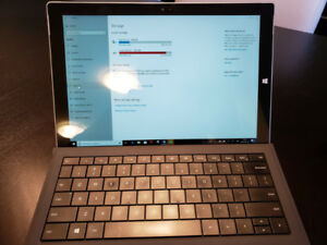 Surface Pro3 Core i7, 8GB Ram, 512 GB. Win 10 Pro,Accessories.