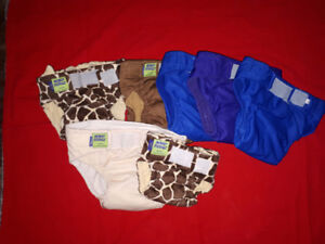 Huge lot of cloth diapers
