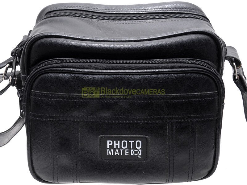 Borsa per attrezzatura in similpelle Photo Mate cm. 12x15x20 (interno).