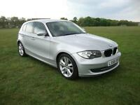 BMW 123d 2.0TD SE 5-Dr 2008 58, Full Leather, Bluetooth, Lovely Throughout,