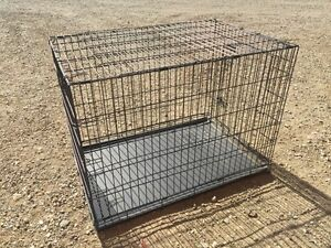 Dog crate x large as new