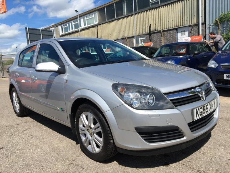 2005 Vauxhall Astra ACTIVE 16V TWINPORT Petrol silver Manual