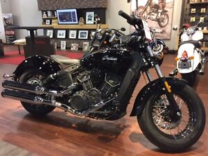 2017 Indian Motorcycle Scout Sixty Thunder Black