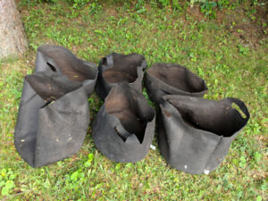 6 sacs à jardiner Smart pot en géotextile pour balcon ou autre