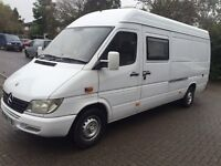 Mercedes sprinter 311CDI LWB 2.1 only 148200 miles ,same owner for 10 years