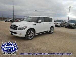 2011 INFINITI QX56 Base    - Navigation - Remote Start - DVD