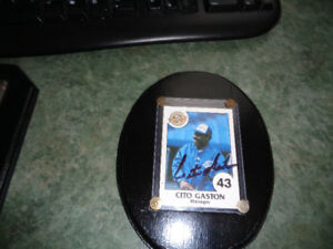 Autographed Hand Signed Blue Jays Cito Gaston Baseball Card Gr