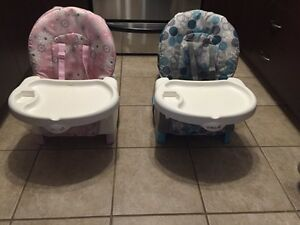 Space saver highchairs
