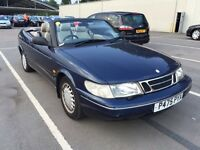Saab 900 Classic Auto PERFECT LUXURY DRIVE MOT TAX LEATHER ALLOYS 36,000 WARRANTY