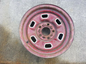 GM 4 3/4 BOLT PATTERN NOVA CAMERO RALLYS+ SNOW FLAKE RIMS