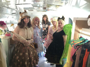 Mobile Vintage Clothing Bus For Sale!