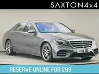 2018 Mercedes-Benz S Class 3.0 MHEV AMG Line G-Tronic+ (s/s) 4dr Saloon Petrol A