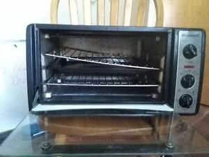 Toaster oven,working well