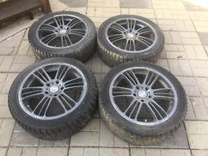 17 inch Rays alloy wheels 5x114.3