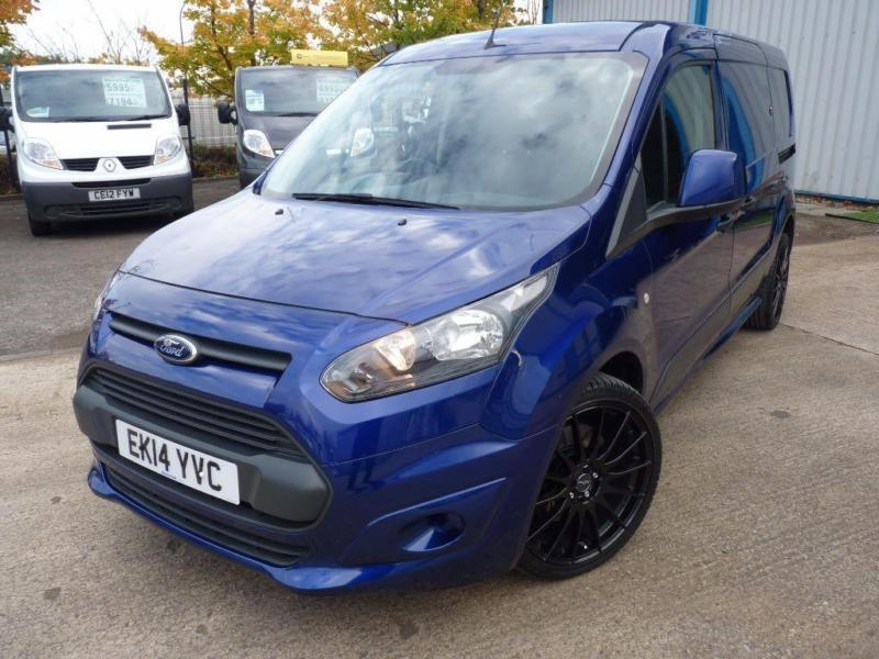 ford transit connect 240 l2 1 6 tdci 115bhp fsh 19 alloys stunning in sheffield south. Black Bedroom Furniture Sets. Home Design Ideas