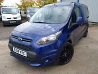 "Ford Transit Connect 240 L2 1.6 TDCI 115BHP + FSH + 19"" ALLOYS + STUNNING"
