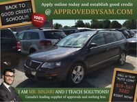 "Volkswagen Passat Wagon - TEXT ""AUTO LOAN"" TO 519 567 3020"