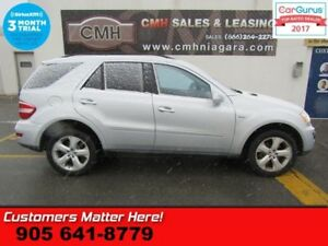 2010 Mercedes Benz M-Class ML350  DIESEL, AWD, NAVIGATION, SUNRO