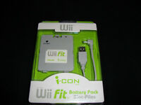 WII FIT BATTERY PACK/BLOC PILES NEW