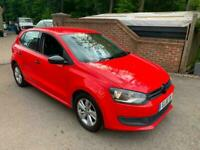 2013 (63) VOLKSWAGEN POLO 1.2 S + RED + 5 DOORS + GREAT FIRST CAR