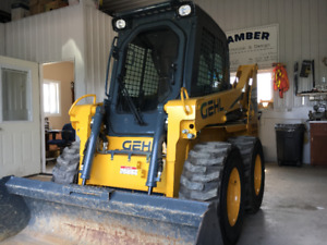 SKID LOADER, 266 HOURS, AS NEW