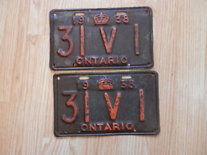 Licence Plates