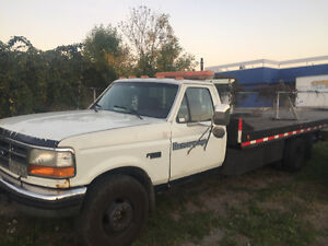 1995 FORD F Super Duty 7.3l Diesel TOWING