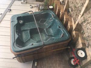 Hot tub moving - hot tub removal - hot tub disposal experts