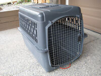 Airline certified dog carrier