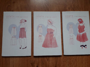 BNIB Colette sewing patterns for dress and skirt