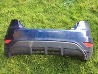 Fiesta rear bumper