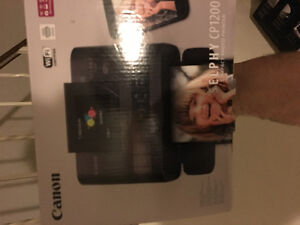 Cannon Selphy CP1200 wireless compact colour printer