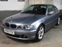 2006 '06' BMW 320 CI 2.2i SE Coupe * Straight 6 * LEATHER * EW's * EM's * 2 Keys