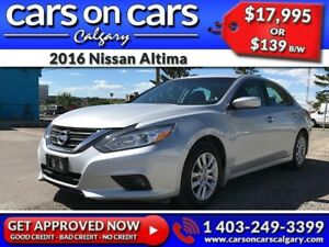 2016 Nissan Altima w/BackUp Cam, USB Connect, BlueTooth $139 B/W