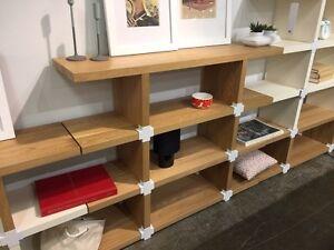 New EQ3 modular oak shelves - 75% off current price.