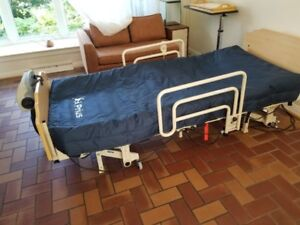 Invacare hospital bed with air mattress; possible delivery!