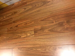 120 Sq Ft Click Together Laminated Flooring