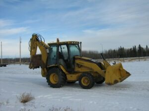 CAT 420D LOADER BACKHOE