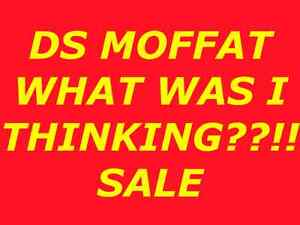 DS MOFFAT CHURCH, TILBURY, ANNUAL WHAT WAS I THINKING?!! SALE