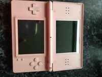 Pink Nintendo Dd & 4 games £15 no charger