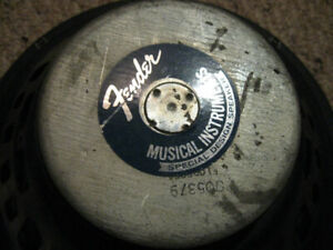 """12"""" guitar speakers, Fender 8ohm and Celestion 16ohm $100 each"""