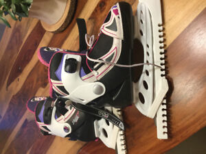 Patins ajustables filles pointure 35-38