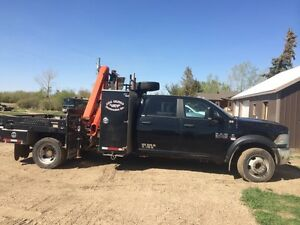 2013 dodge 5500 picker truck