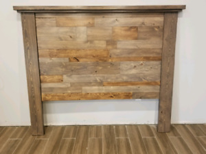 Custom homemade queen headboard