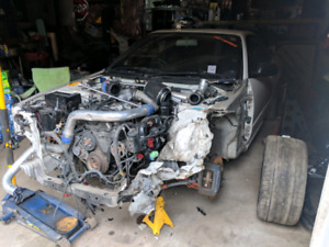 R34 gtt skyline rb25det neo engine and transmission