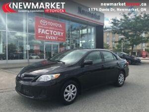 2013 Toyota Corolla CE  - trade-in - Certified - $45.52 /Week