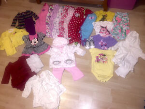 3-6 month girl clothing and snowsuit